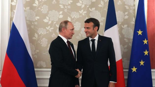 В Елисейском дворце рассказали, о чем Макрон и Путин будут говорить, кроме Украины