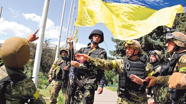 Украина празднует годовщину освобождения Славянска: видео торжеств