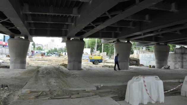 Из-за ремонта Шулявского моста перекроют движение по проспекту Победы