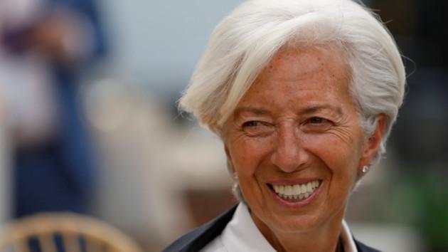 Европарламент поддержал назначение Лагард на пост главы ЕЦБ