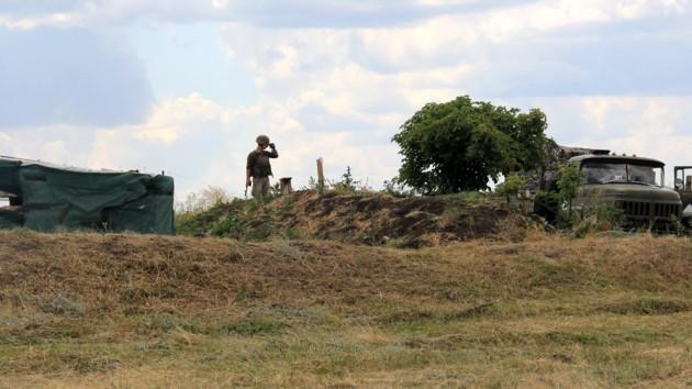 """На Донбассе боевики 6 раз нарушили """"режим тишины"""""""