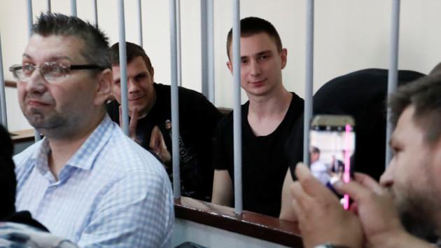 В России продолжают отклонять апелляции украинских моряков