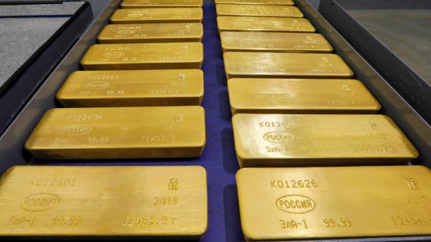 Торговая война США и Китая взвинтила цену золота: побит рекорд за шесть лет