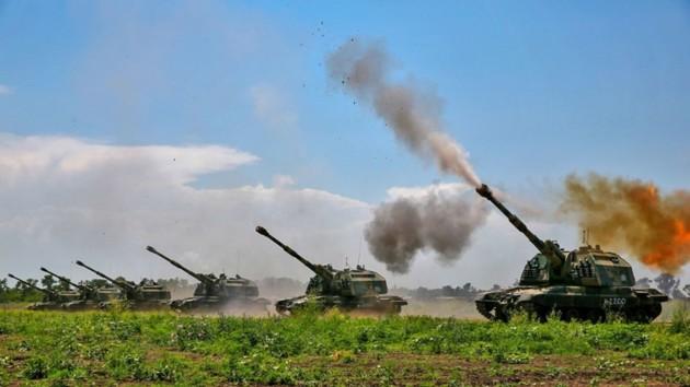 На Донбассе боевики усиленно готовят артиллерию