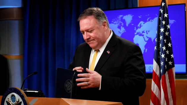 Помпео заверил, что отставка Болтона не изменит внешнюю политику США
