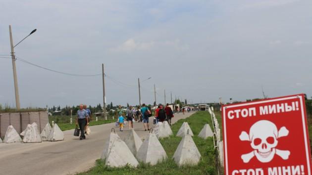 Закончилась первая стадия разминирования территорий у Станицы Луганской
