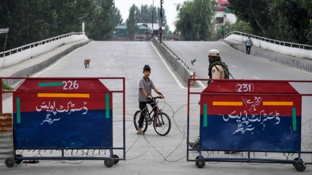 Власти Индии частично сняли  введенные ограничения в Джамму и Кашмире