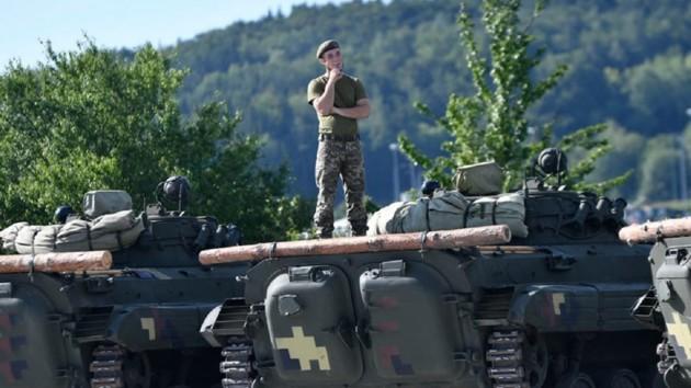 Украинские бойцы прибыли в Германию на масштабные военные учения