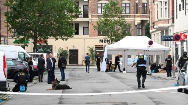 В столице Дании прогремел взрыв возле полицейского участка