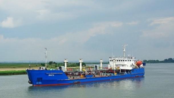 В Херсоне обыскивают судно, поставлявшее топливо для Черноморского флота РФ