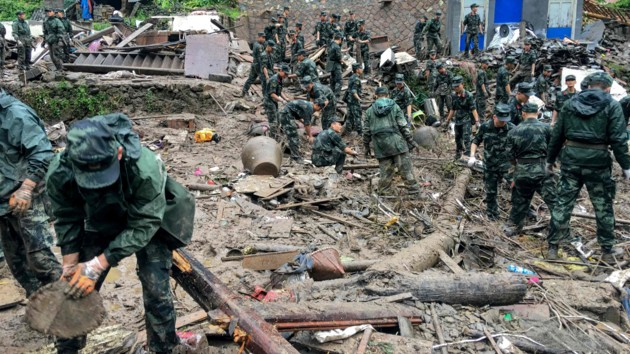 В Китае число жертв тайфуна «Лекима» возросло до 30
