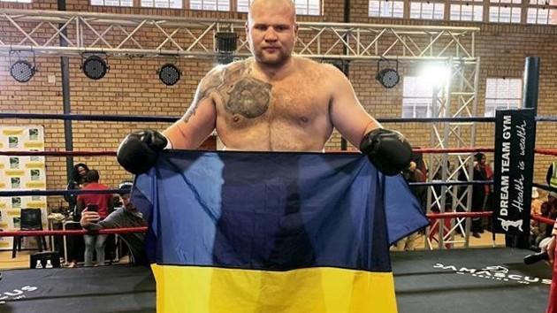 Украинский гигант добыл третью победу в профи ринге