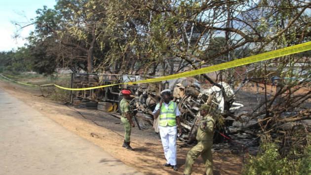 Число жертв взрыва бензовоза в Танзании увеличилось до 68
