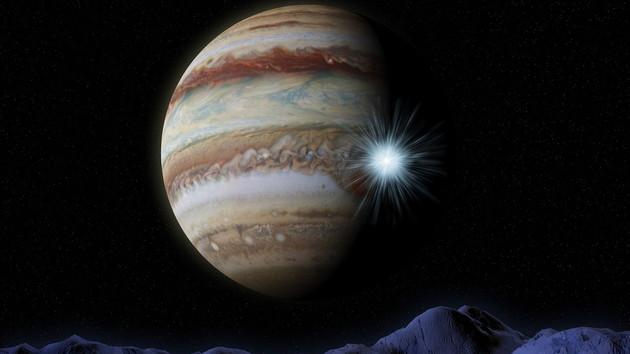 На Юпитере зафиксировали таинственный взрыв невероятной мощности
