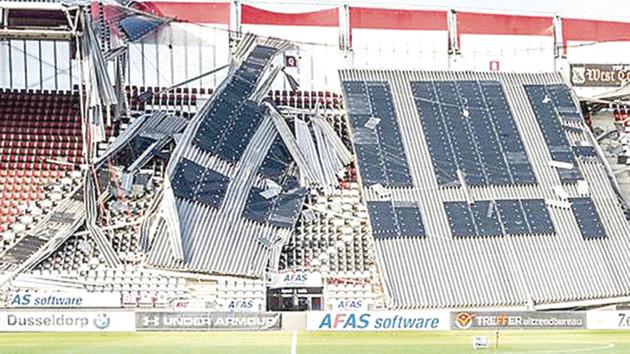 """Падение крыши на стадионе в Голландии: """"Мариуполь"""" решил не менять место дислокации"""