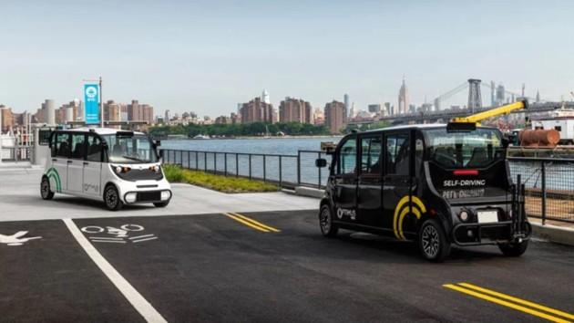 В Нью-Йорке запустили автобусы без водителей: как это работает