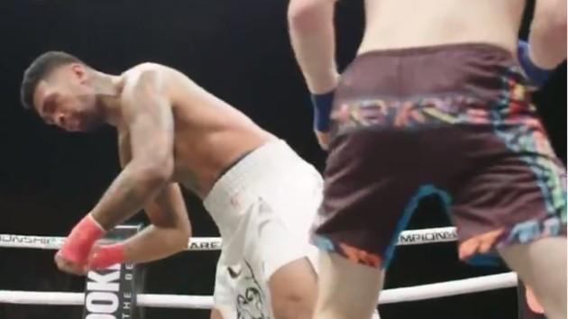 Чудовищный нокаут в боях на голых кулаках, после которого бойцу пришлось завершить карьеру