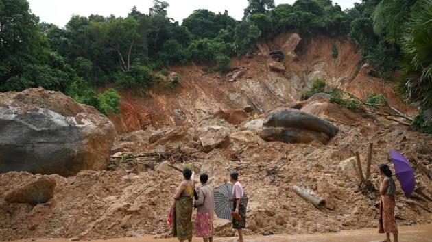 Смертельный оползень в Мьянме: количество жертв выросло