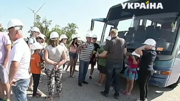 Туризм против мифов: на Ботиевской ветроэлектростанции еженедельно проводят экскурсии
