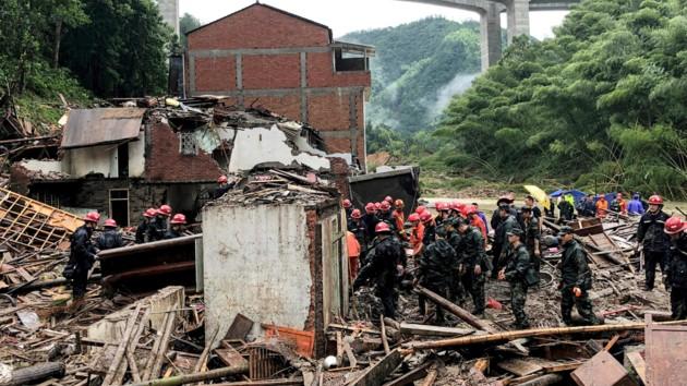 Тайфун «Лекима» в Китае: снова увеличилось число погибших