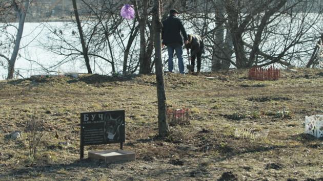 Киевлян попросили убрать могилы животных на Русановке