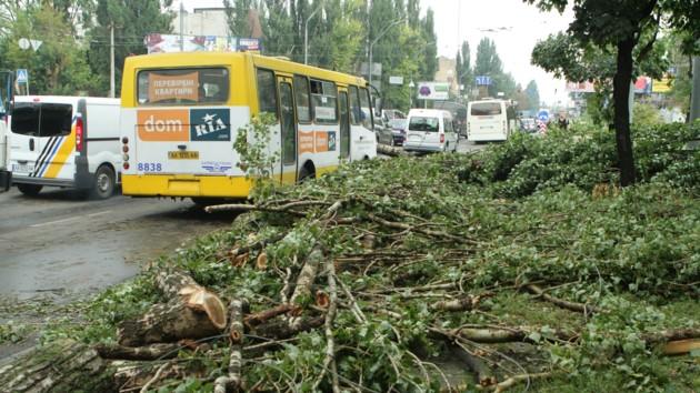 Сорванные крыши и дома без света: что натворила непогода в Украине