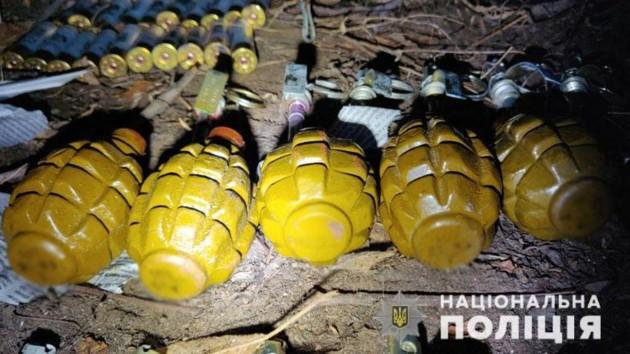 С начала года в Донецкой области полиция изъяла  более 1200 взрывных устройств