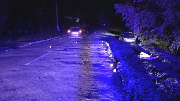 В Ровенской области пьяный водитель сбил пешехода насмерть