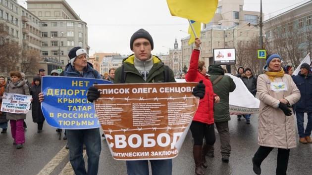 В России бросили за решетку проукраинского активиста