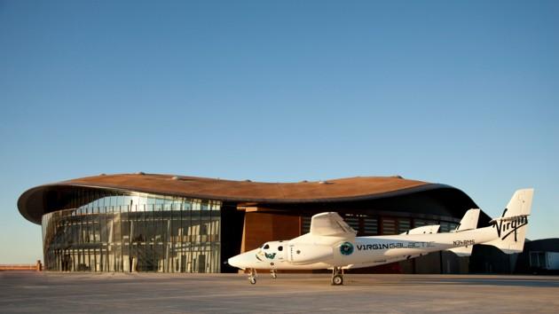 Virgin Galactic построила космопорт в США