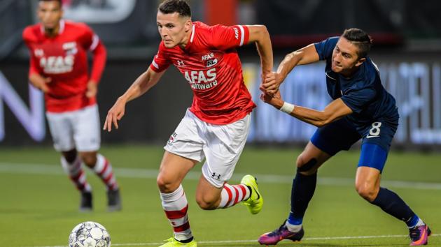 """Разгром в Гааге: """"Мариуполь"""" получил четыре сухих мяча от """"Алкмара"""" и вылетел из еврокубков"""