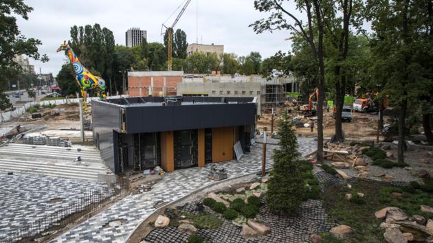 Кличко показал, на что потратят деньги при реконструкции Киевского зоопарка (фото и видео)