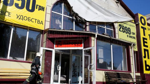 """В Одессе задержали владельца сгоревшего отеля """"Токио Стар"""""""