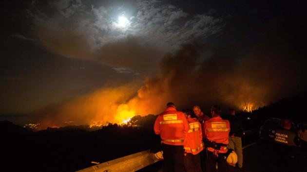 Пожар на Канарских островах: когда эвакуированные смогут вернуться в свои дома