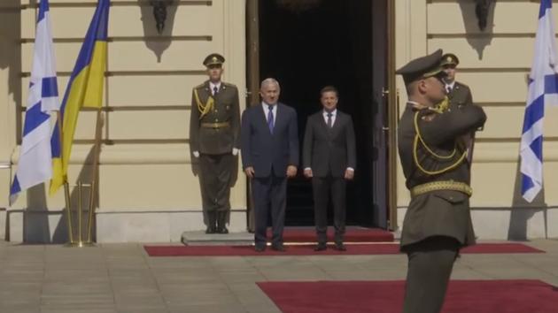 Зеленский встретился с Нетаньяху: видео