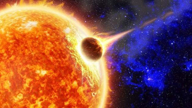 Космическая авария: комета врезалась в Солнце