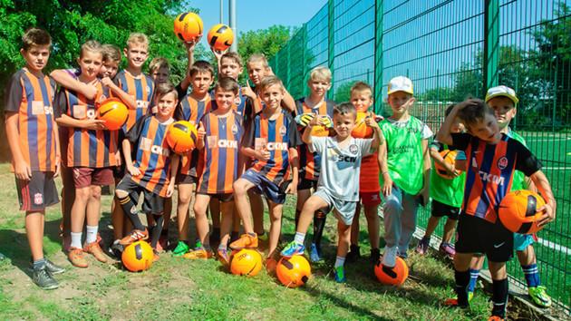 """""""Шахтер"""" открыл стадион для бесплатных занятий футболом для детей уже в 25-м городе Украины"""