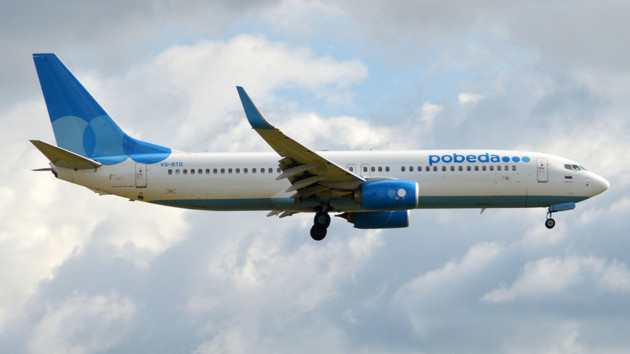 В Армении российский самолет повредил хвостовую часть при посадке