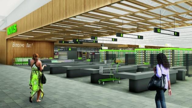 Инновации и сервис: как будет выглядеть новый флагманский супермаркет NOVUS