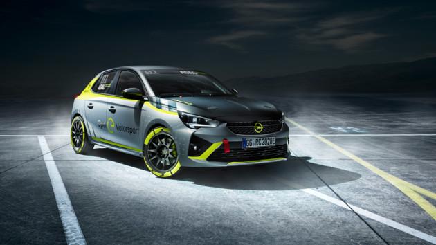 Opel выпустил первый в мире электромобиль для ралли: фото