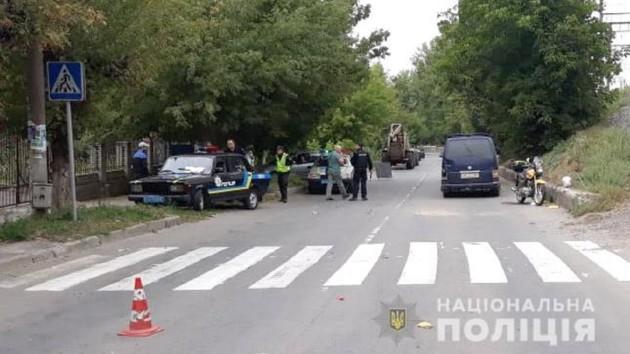 В Винницкой области произошло тройное ДТП: мотоциклист без сознания в реанимации