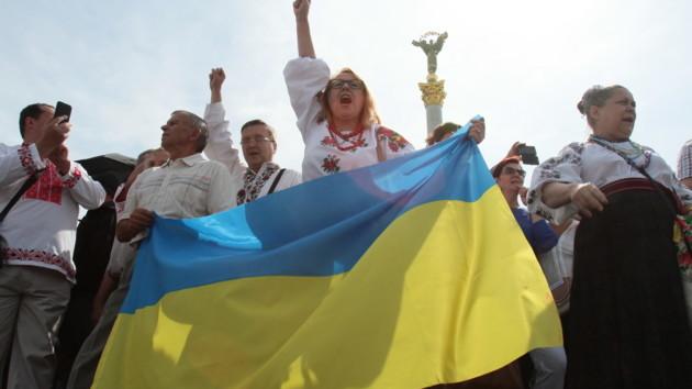 Шествие Достоинства в День Независимости Украины: онлайн-трансляция
