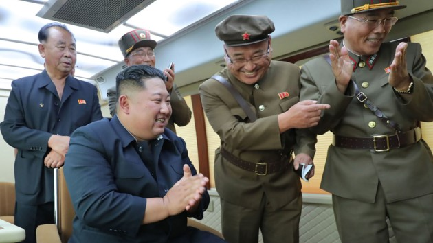 КНДР произвела очередной ракетный запуск