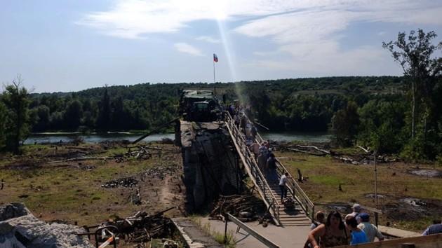 Пристайко рассказал, когда откроют мост в Станице Луганской