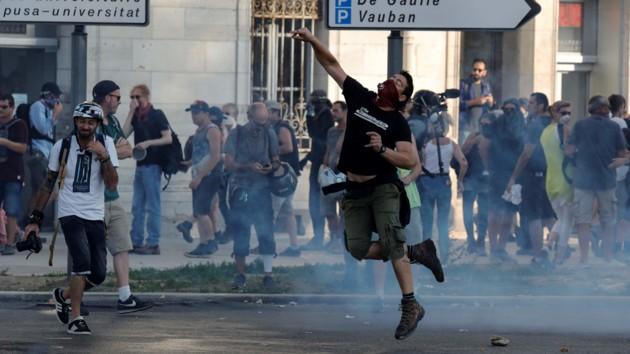 Протесты во Франции: полиция задержала 68 митингующих