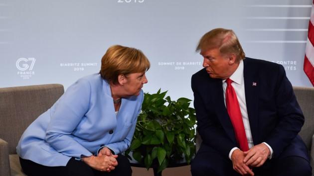 Меркель и Трамп обсудили возможную встречу Зеленского с Путиным