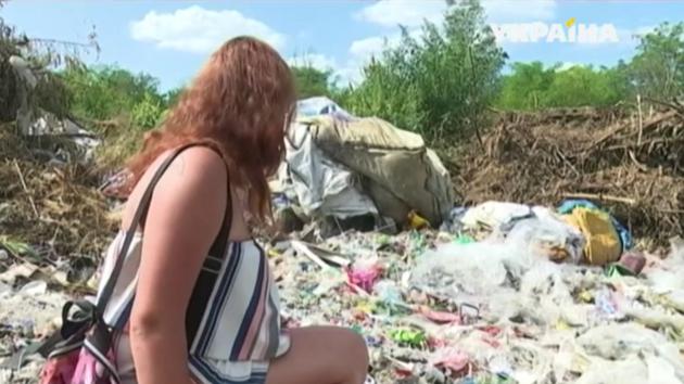 Под Днепром нашли опасную свалку медицинских отходов