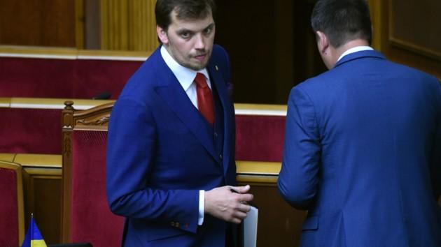 Гончарук представил кандидатов в новые министры