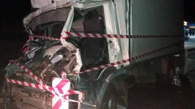 В Хмельницкой области столкнулись грузовики: водитель попал в реанимацию