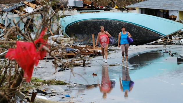 Последствия сильного урагана «Дориан»: фото и видео